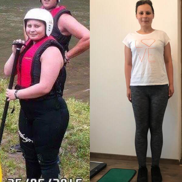 povești de succes cu pierderea în greutate mică